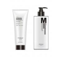 Mayasuo šampūnas visų tipų plaukams 400ml + Mayasuo maitinamasis ir atkūriamasis plaukų kondicionierius 250ml