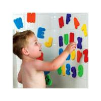 Munchkin 34729 Vonios žaislas - raidžių ir skaičių rinkinys