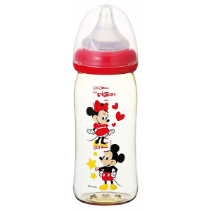 """Pigeon """"Mickey Mouse"""" maitinimo buteliukas,240ml from 3 months"""