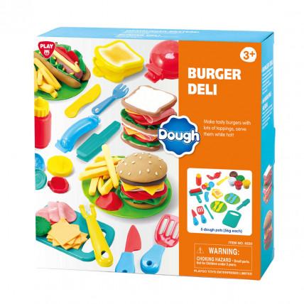 PlayGo 8330 Plastilininių mėsainių rinkinys