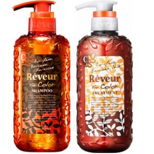 "Reveur ""For Color"" šampūnas+ kondicionierius dažytiems plaukams 500ml+500ml"