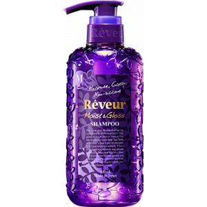 """Šampūnas """"Reveur Moist&Gloss"""". Drėkinimas ir blizgesys (gilus drėkinimas)"""