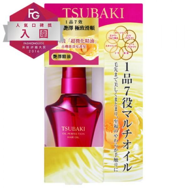 Shiseido Tsubaki Oil Perfection Camellia regeneruojantis plaukų aliejus 50 ml