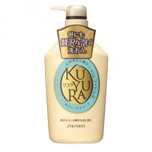 """Shiseido """"Kuyura"""" dušo želė su žolelių kvapu 550ml"""