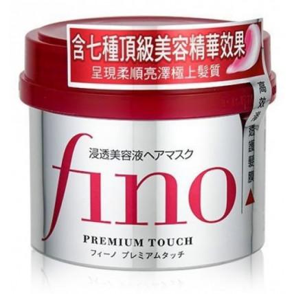 """Shiseido """"Fino Premium Touch"""" kaukė sausiems ir pažeistiems plaukams 230g"""