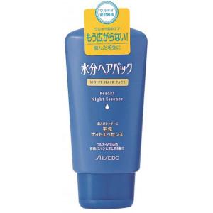 Shiseido Moist Hair Pack naktinė pažeistų plaukų kaukė 120g