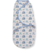 Summer Infant 565865 SwaddleMe medvilninis vystyklas/kaldrelė patogiam vaikelio miegui, nuo 3.2 kg iki 6.4 kg