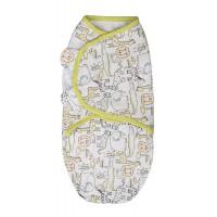 Summer Infant 57276 SwaddleMe medvilninis vystyklas/kaldrelė patogiam vaikelio miegui, nuo 3.2 kg iki 6.4 kg.