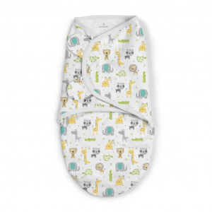 Summer Infant 556467 SwaddleMe medvilninis vystyklas/kaldrelė patogiam vaikelio miegui, nuo 3.2 kg iki 6.4 kg.
