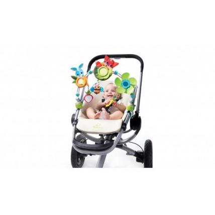 """Tiny love TL1404100030R Pakabinamas vežimėlio barškutis """"Saulėta pieva"""""""