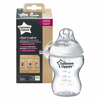 Tommee Tippee Close to nature maitinimo buteliukas vaikams nuo pat jų gimimo