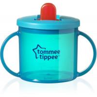 Tommee Tippee First Cup pirmasis puodelis su uždaromu dangteliu, nuo 4 mėnesių, 190 ml