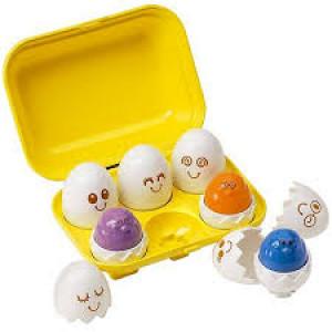 Tomy Hide and Squeak Eggs E1581 Žaislas