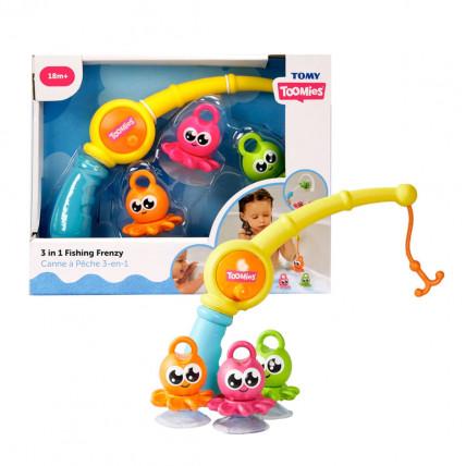 Tomy E3103 vonios žaislas / žvejyba