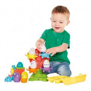 Tomy Eggventure Train 2in1 E73099 Lavinamasis žaislas