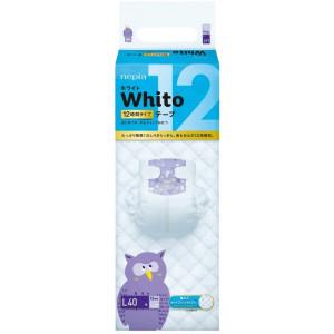 Sauskelnės Whito L 9-14kg 12val