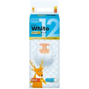 Sauskelnės Whito M 6-11kg 12val