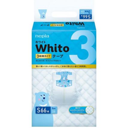 Sauskelnės Whito S 4-8kg 3val