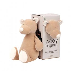 Wooly organic 00101 Didelis žaislinis meškinas