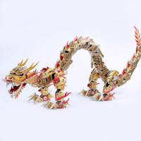 Zilipoo 3D Dėlionė dragon
