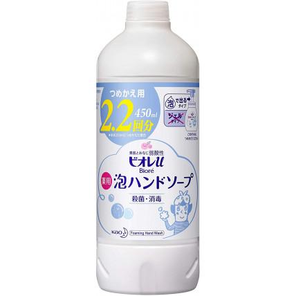Biore U skystas antibakterinis citrusinių vaisių kvapo rankų muilas, užpildas 450ml
