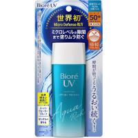Biore UV Aqua Rich SPF 50+ vandeniui atsparus, drėkinamasis apsauginis kremas nuo saulės visam kūnui 90ml