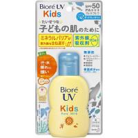 Biore UV SPF 50+ vaikiškas pienelis, drėkinantis odą, apsaugantis nuo saulės spindulių, atsparus vandeniui 70ml