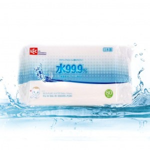 Drėgnosios servetėlės, impregnuotos dejonizuotu vandeniu 99,9% iPLUS, 320psc