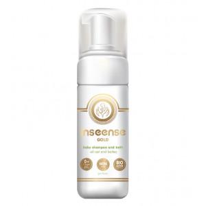 Inseense Gold universalus šampūnas-dušo želė su putomis 160 ml