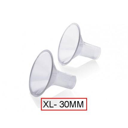 Medela PersonalFit ™ piltuvėlio / siurbliuko purkštukas, XL dydis (30mm)