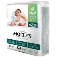 Sauskelnės-kelnaitės Moltex Pure & Nature 4 Maxi 7-12kg 22vnt