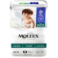 Sauskelnės-kelnaitės Moltex Pure & Nature 6 XL 14+kg 18vnt