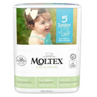 Sauskelnės Moltex Pure & Nature 5 Junior 11-25kg 25vnt