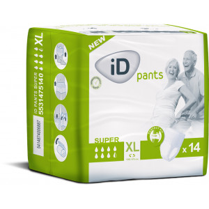 Sauskelnės suaugusiems iD pants XL 14vnt