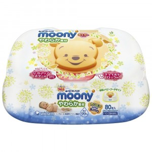 Drėgnos servetėlės MoonyBOX+ 4 paketai*80 vnt.