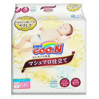 Sauskelnės Goo.N Marshmallow Premium Soft NB 0-5kg