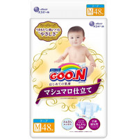 Sauskelnės Goo.n M 6-11 kg Marshmallow Premium Soft