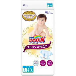 Sauskelnės Goo.n L 9-14 kg Marshmallow Premium Soft