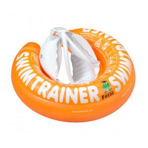 """Pagalbinis pripučiamas plaukiojimo ratas """"Classic"""" iš Freds vaikų plaukimo akademijos (nuo 2 iki 4 metų, 15-30 kg), oranžinės spalvos"""