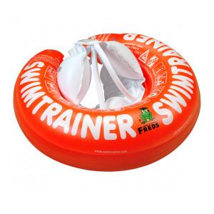 """Pagalbinis pripučiamas plaukiojimo ratas """"Classic"""" iš Freds vaikų plaukimo akademijos (nuo 3 mėnesių iki 4 metų, 6-18 kg), raudonos spalvos"""