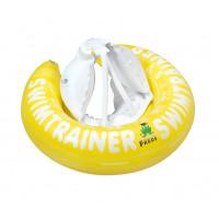 """Pagalbinis pripučiamas plaukiojimo ratas """"Classic"""" iš Freds vaikų plaukimo akademijos (nuo 4 iki 8 metų, 20-36 kg), geltonos spalvos"""